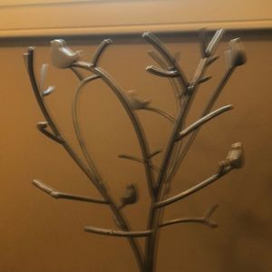 Storage & Organization - Bird themed jewelry tree